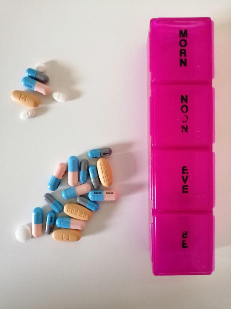 a range of pills taken daily